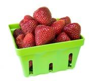 Fresh tasty strawberries Stock Photos