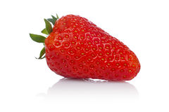 A fresh and tasty strawberry Stock Photography