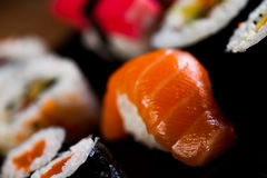 Fresh and tasty sushi from Japan Stock Photos