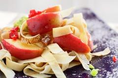 Fresh and tasty vegetables salad Stock Image