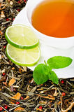 Fresh tea Royalty Free Stock Photos