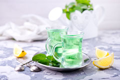 Fresh tea Royalty Free Stock Images
