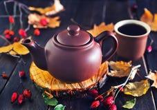 Fresh tea in teapot Royalty Free Stock Photography