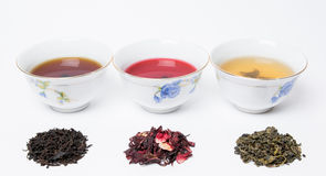 fresh teas Stock Image