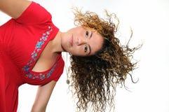 Fresh teen girl isolated Stock Photo
