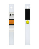 Fresh test strip. Unused test strips for analysis of glucose in the blood Stock Photography
