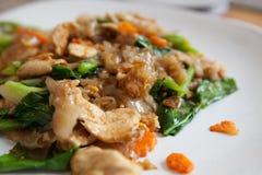 Fresh thai food. Fresh thai street food on a plate Royalty Free Stock Photos