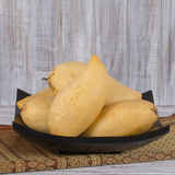 Fresh thai mango, close up Royalty Free Stock Images