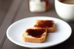 Fresh toast Stock Photography