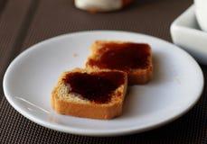 Fresh toast Stock Photos