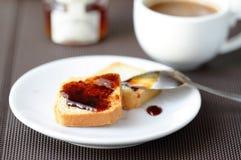 Fresh toast Stock Image