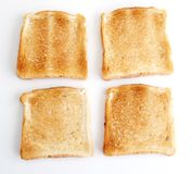 Fresh toasts Royalty Free Stock Photos
