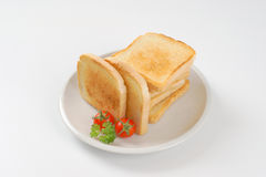 Fresh toasts Stock Image
