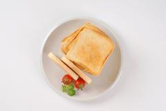 Fresh toasts Stock Photography