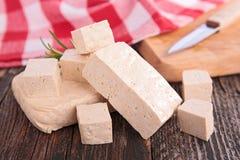 Fresh tofu Stock Photo