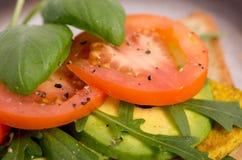 Fresh Tofu Veggie Sandwich Royalty Free Stock Image