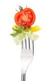 Fresh Tomato And Salad Stock Photos
