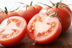 Fresh Tomato Fruits. These tomatoes are very fresh Royalty Free Stock Photos