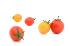 Fresh Tomato isolate on white background Stock Images