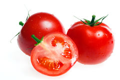 Fresh tomato isolated Royalty Free Stock Photo