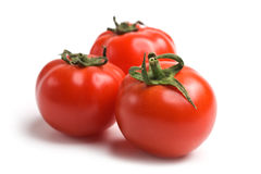 Fresh tomato, isolated on white background Stock Image