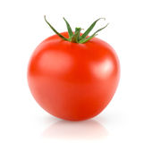 Fresh Tomato. Isolated on White Background Stock Image