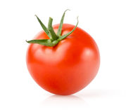 Fresh Tomato. Isolated on White Background Royalty Free Stock Images