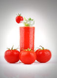 Fresh Tomato Juice Royalty Free Stock Photo