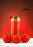 Fresh tomato juice Royalty Free Stock Photography
