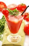Fresh tomato juice Stock Images