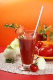 Fresh tomato juice Royalty Free Stock Photos