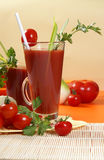 Fresh tomato juice Royalty Free Stock Images