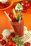 Fresh tomato juice Royalty Free Stock Photos