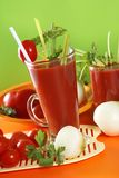 Fresh tomato juice Stock Photography