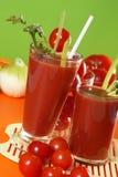 Fresh tomato juice Royalty Free Stock Images
