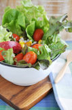Fresh Tomato in Salad Bowl Stock Photography