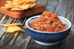 Fresh Tomato Salsa Stock Image