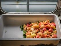Fresh tomato sliced Stock Image