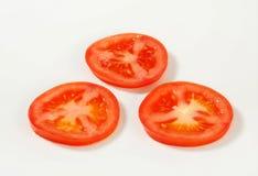 Fresh tomato slices Royalty Free Stock Photography