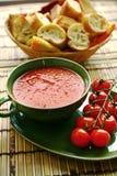 Fresh tomato soup Royalty Free Stock Photography