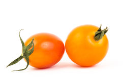 Fresh tomato. On white background Royalty Free Stock Photo