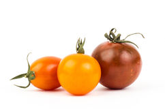 Fresh tomato. On white background Stock Images