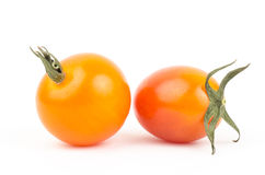 Fresh tomato. On white background Stock Photos