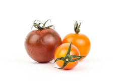 Fresh tomato. On white background Royalty Free Stock Image