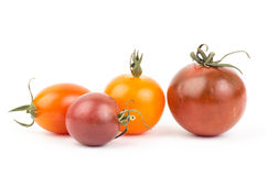 Fresh tomato. On white background Royalty Free Stock Photography