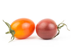 Fresh tomato. On white background Stock Image