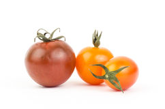 Fresh tomato. On white background Stock Photo