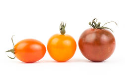 Fresh tomato. On white background Royalty Free Stock Photos