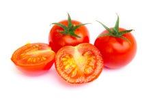 Fresh Tomato on white background Royalty Free Stock Photography