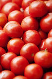 Fresh tomatoes. Fresh ripe tomatoes stacked up Stock Photo